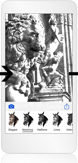 the Engraver iOS App
