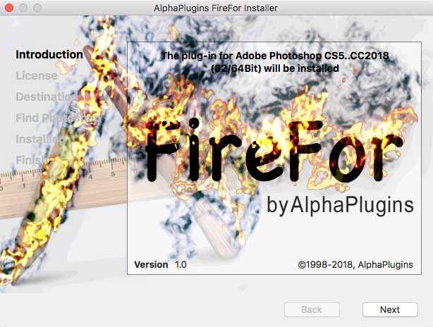 Install FireFor plug-in