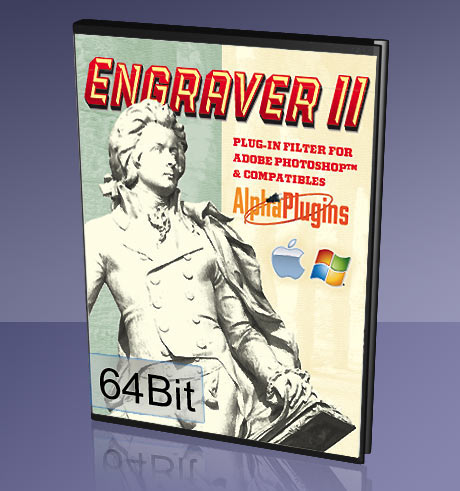 EngraverII plug-in for PhotoshopCS3/CS4