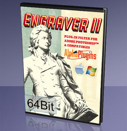 EngraverII plug-in for PhotoshopCS2..CC