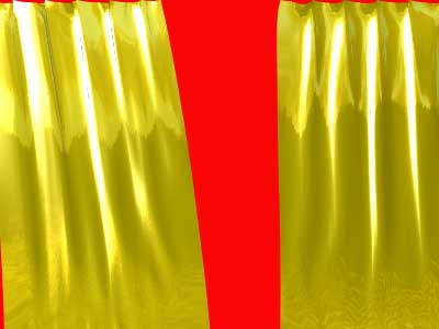 Metalic curtains